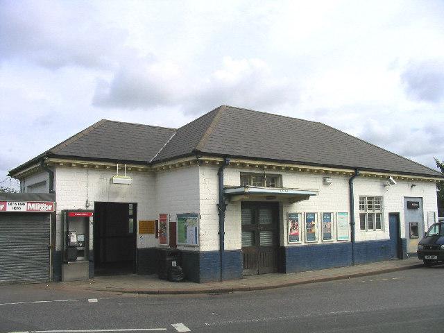 Gidea Park Railway Station, Gidea Park, Romford, Essex