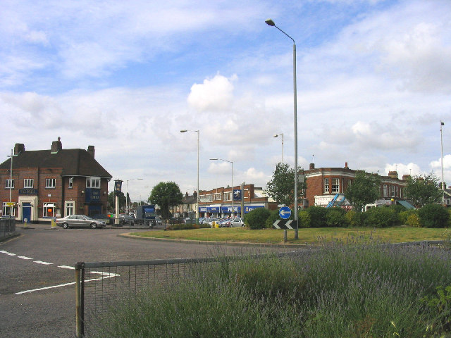 The Drill Roundabout, Romford, Essex