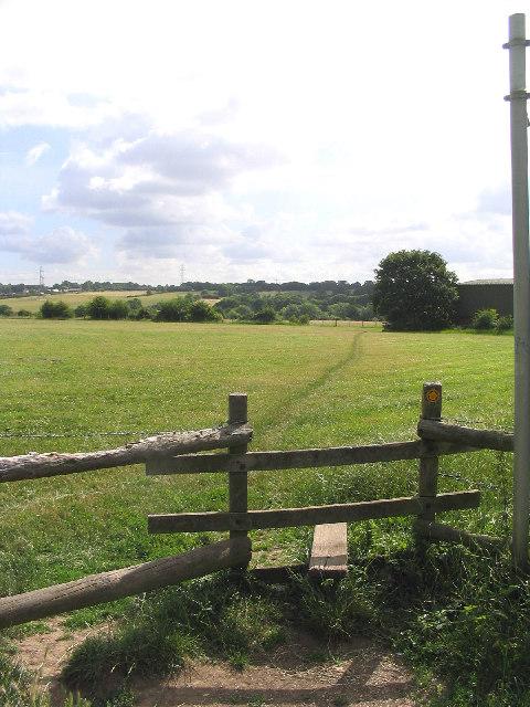 Footpath, off  Wingletye Lane, Hornchurch, Essex