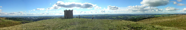 Panorama Featuring Rivington Pike Tower