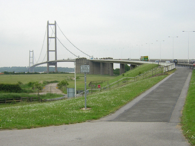 Humber Bridge from South