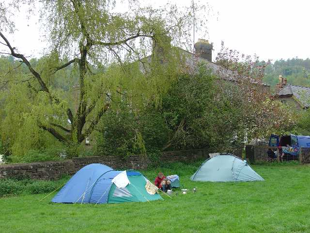 Campsite at Cherry Orchard Farm, Newland, Near Coleford, Glos