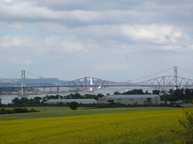 Mothballed electronics factory in the shadow of the Forth Bridges