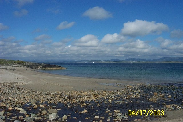 Beach at  Port Charlotte, Islay