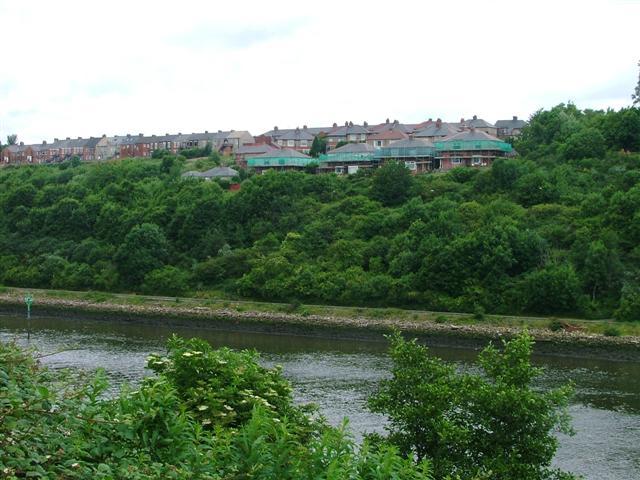 New Housing Overlooking the Tyne