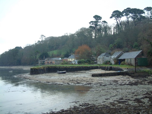 Helford old harbour