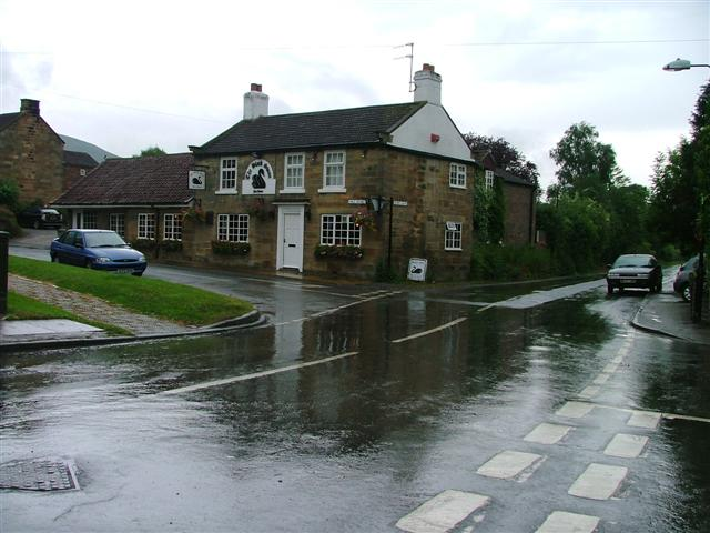 Crossroads, Kirkby-in-Cleveland with the Black Swan