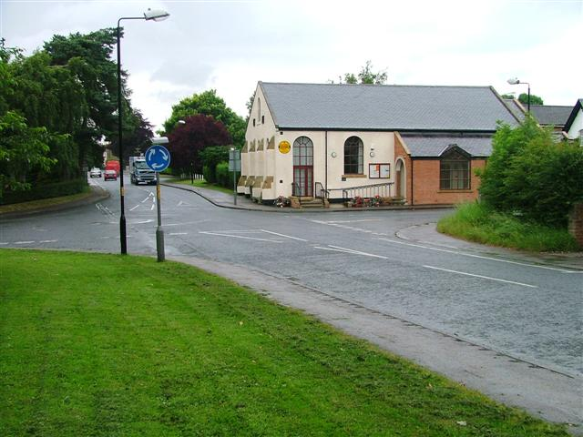 Village Hall and Crossroads, Great Broughton