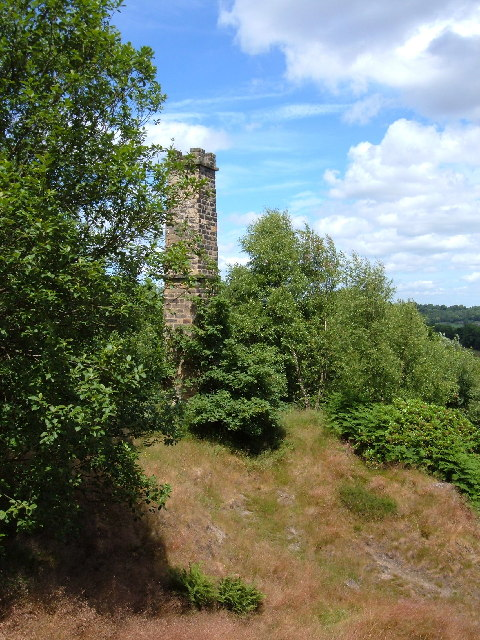 Gregory Mine chimney