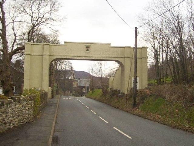Footbridge at Dolgellau