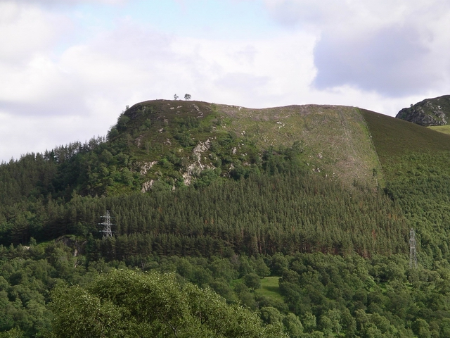Lower spur of Cruban Beag