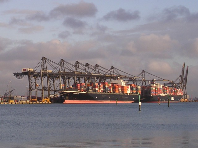 Prince Charles Container Port, Eastern Docks, Southampton