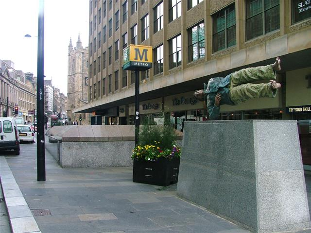 Street Sculpture, Grainger Street