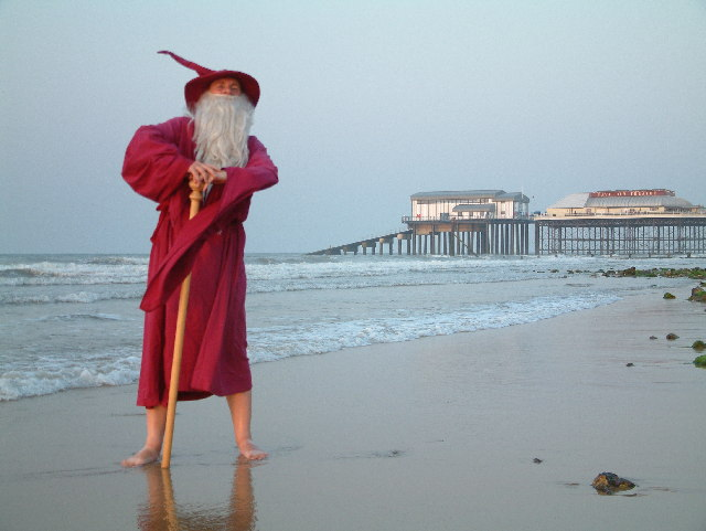 After the Cromer Carnival at Cromer Pier