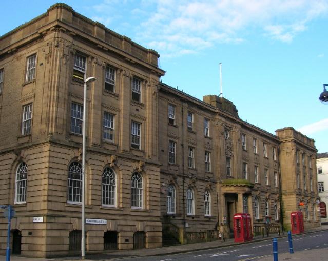 General Post Office, Huddersfield.