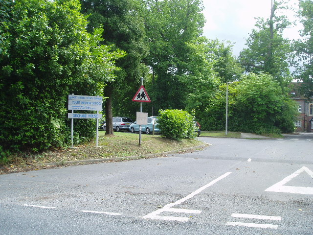 Entrance to Court Meadow School