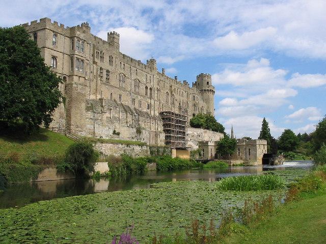 Weir, Warwick Castle
