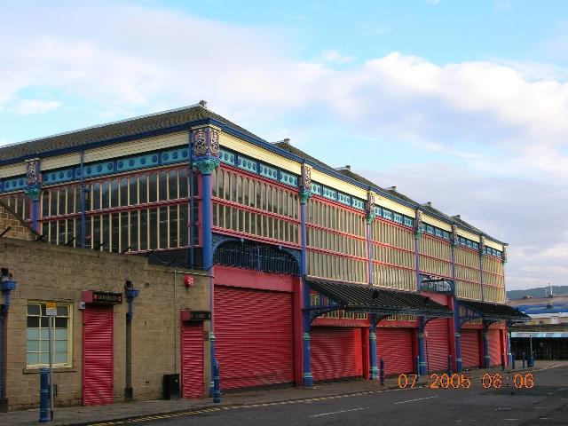 Huddersfield Open Market 1887-89