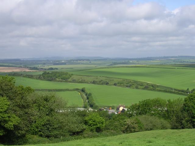 Farmland north of Bere Regis