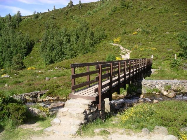 Bridge over Allt Creag an Leth-choin