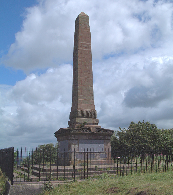 War Memorial near Overton