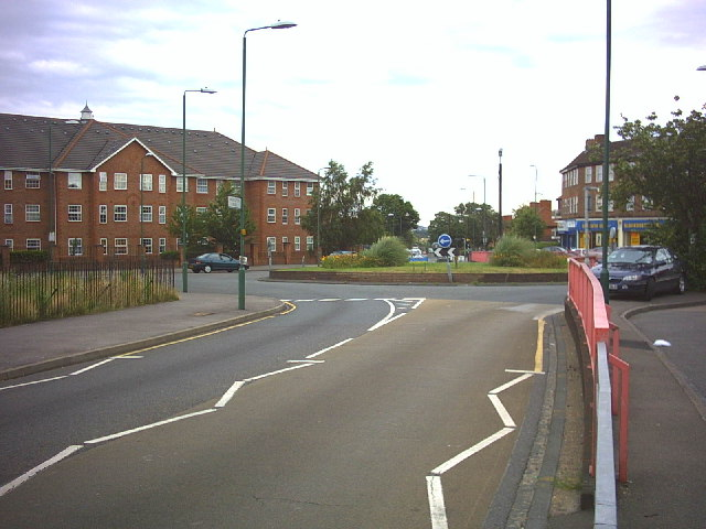 Middleton Road and Green Wrythe Lane roundabout