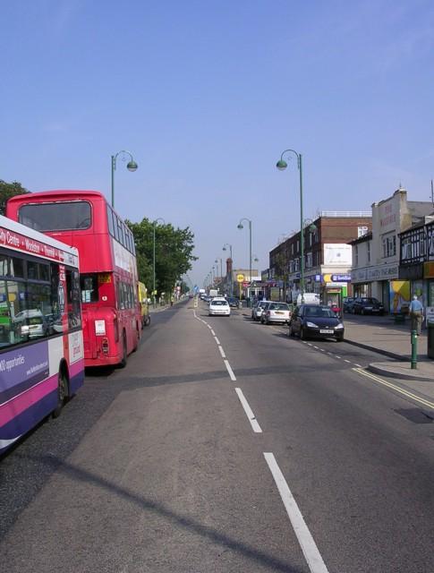 Shirley Road, Shirley