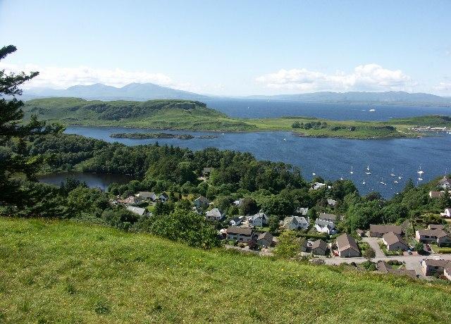 View from Druim Mor