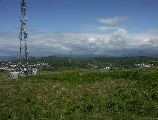 BBC radio and transmitter at Oban