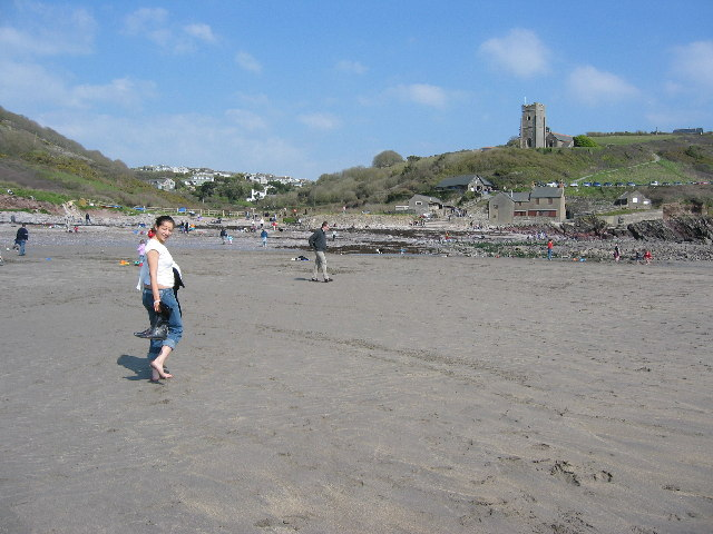 Wembury Beach at Low Tide