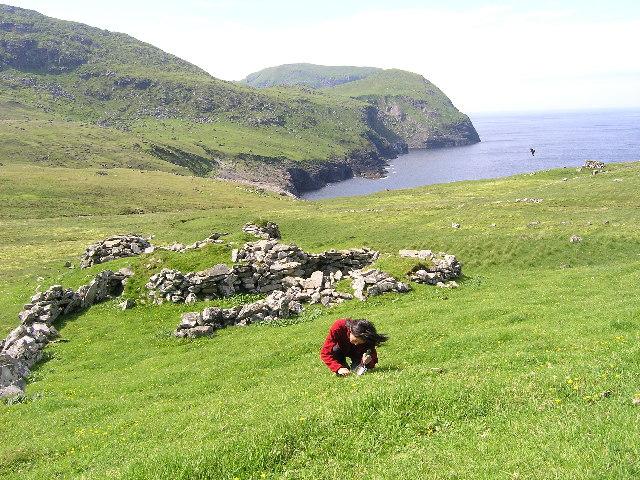 Gleann Mor, Hirta, St Kilda.