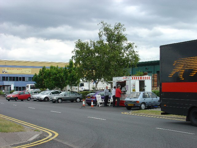 Manor Royal Industrial Estate, Crawley, West Sussex - Lunch Time