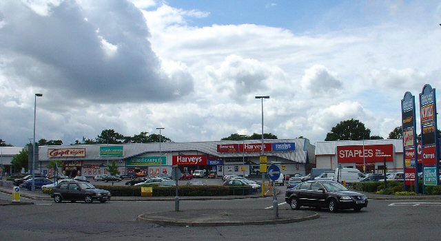 County Oak Retail Park, Crawley, West Sussex