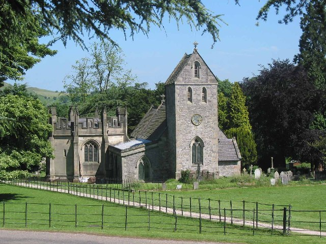 The Church of the Holy Cross Ilam