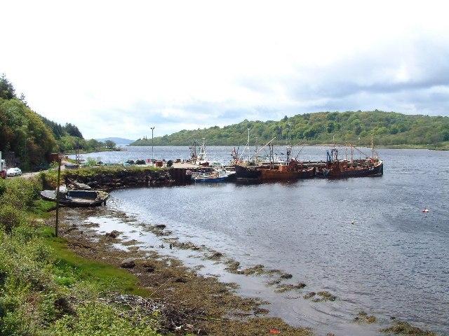West Loch Tarbert jetty