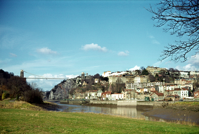 Clifton from across the Avon