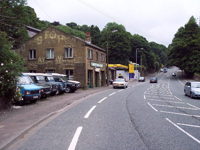 Warley Springs garage, Burnley Road
