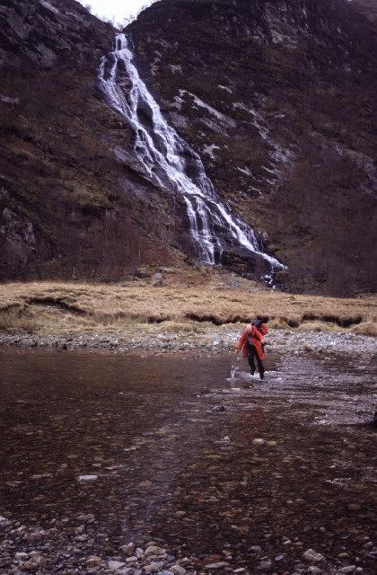 An Steall water falls