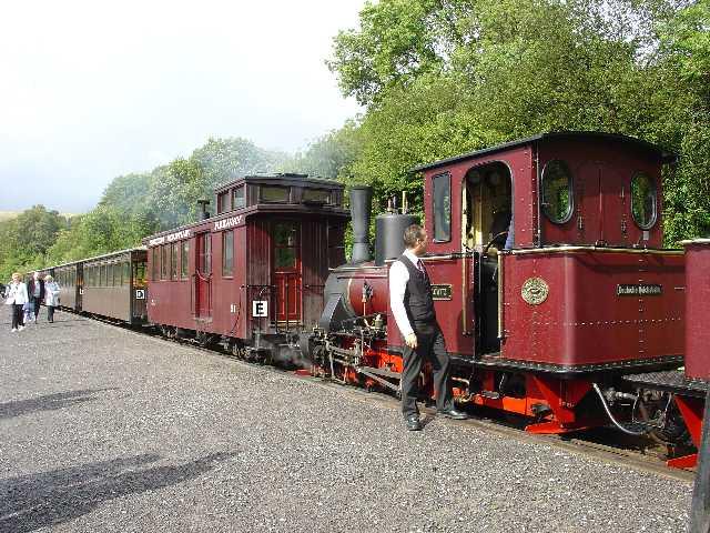 Brecon Mountain Railway. Pontsticill Station
