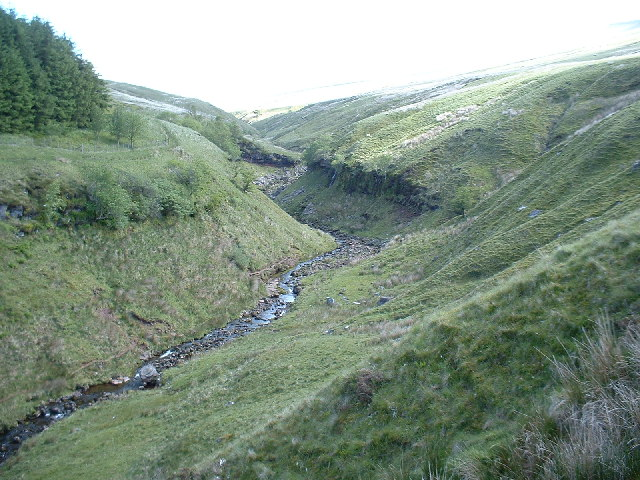 Gully at the foot of Pen-Y-Fan