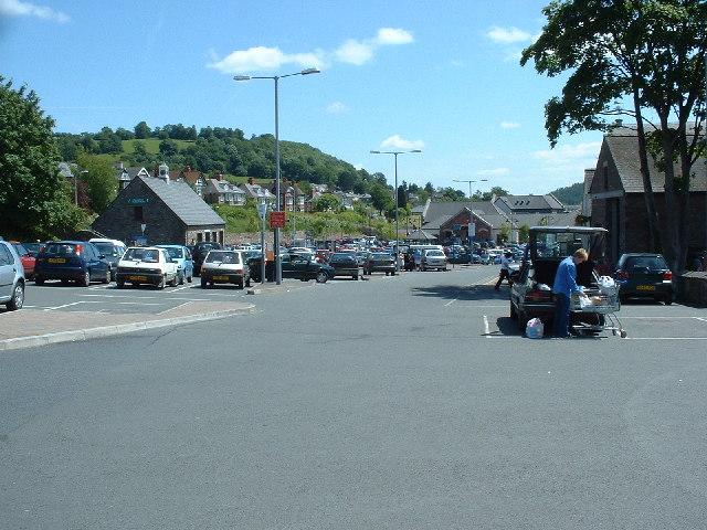 Car park, Brecon