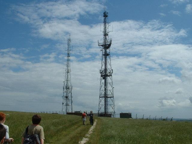 Radio Masts - Beddingham Hill