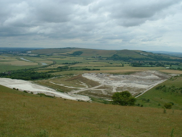 Landfill site - former Cement works