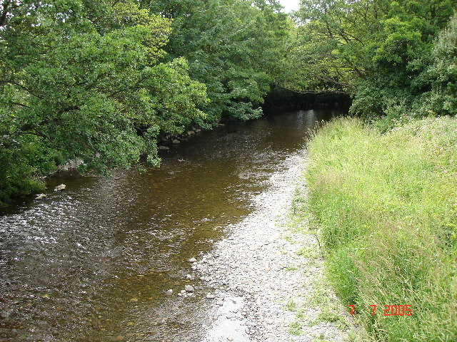 River Elwy - north of St. Asaph