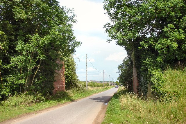 Former railway bridge, Timworth