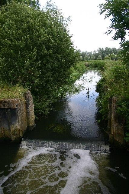 Former lock on River Lark