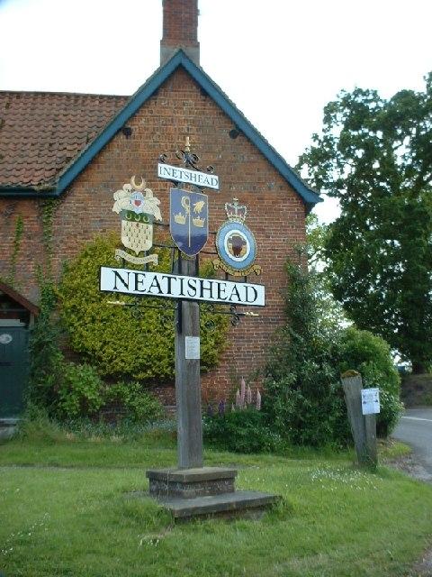 Neatishead village sign