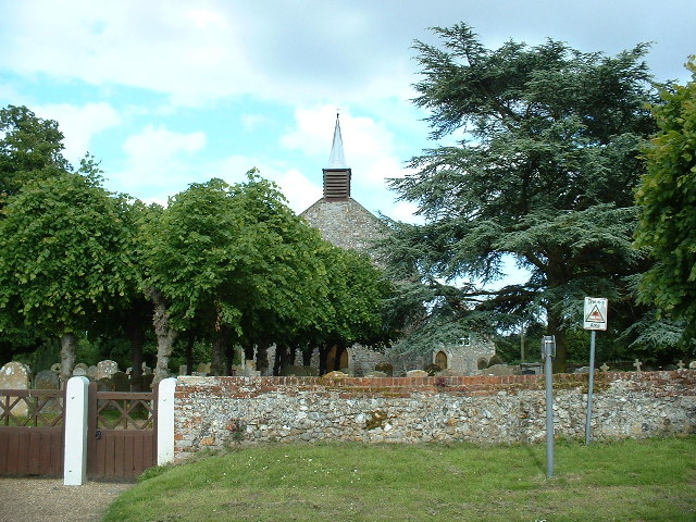 A countryside church at Threehammer Common
