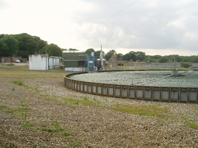 Waste Water Treatment plant at Scaynes Hill