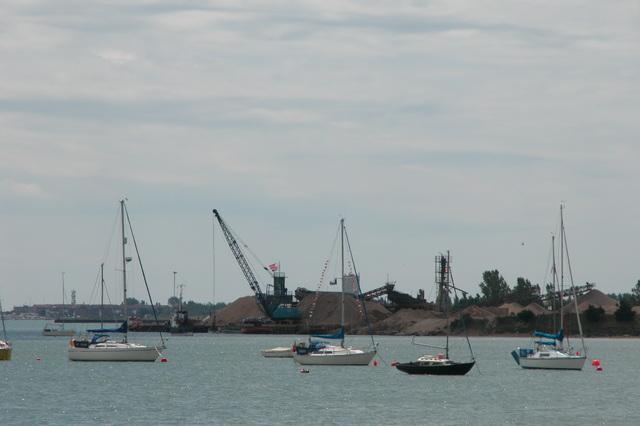 Kendalls Wharf, Langstone Harbour.